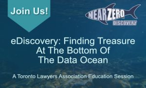 Join us for our education event - eDiscovery: Finding Treasure at the Bottom of the Data Ocean